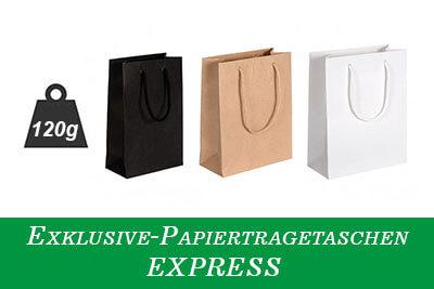 Hochwertige PapierTasche mit Kordel