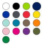 17 Verschiedene Ringfarben
